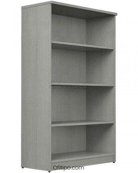 Armario estantería de madera mediano Emese sin puertas ofitipo 3