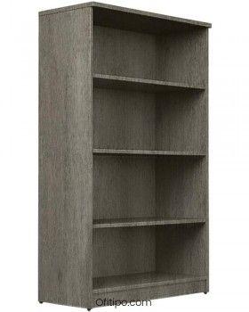 Armario estantería de madera mediano Emese sin puertas ofitipo 11