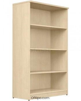 Armario estantería de madera mediano Emese sin puertas ofitipo 12