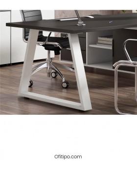 Mesa de despacho Pamendo en L ofitipo 4