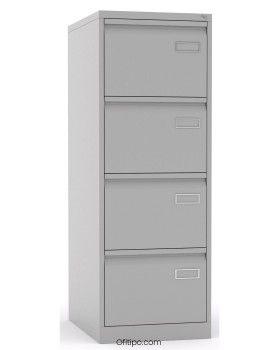 Armario archivador metálico mediano 4 cajones Rasan ofitipo 1