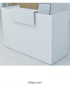 Mostrador de recepción Mester blanco, gris o antracita ofitipo 4