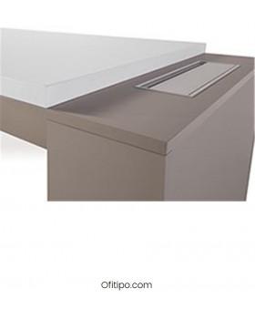 Mesa de despacho Gatenon lateral ancho ofitipo 2