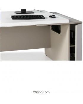 Mesa de despacho Gatenon lateral ancho ofitipo 5