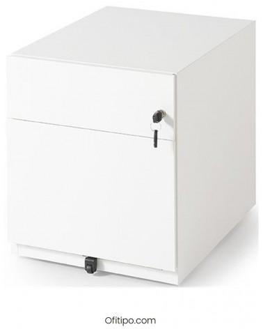 Cajonera metálica cajón + archivo Mocan