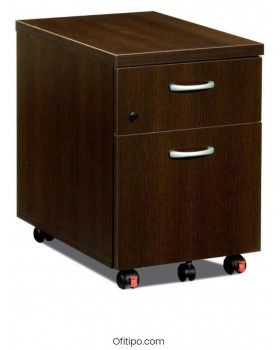 Cajonera madera Mored de cajón + archivo ofitipo 1