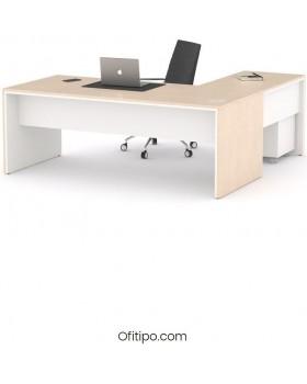 Mesa de despacho Eslem en L ofitipo 14