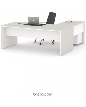 Mesa de despacho Eslem en L ofitipo 16