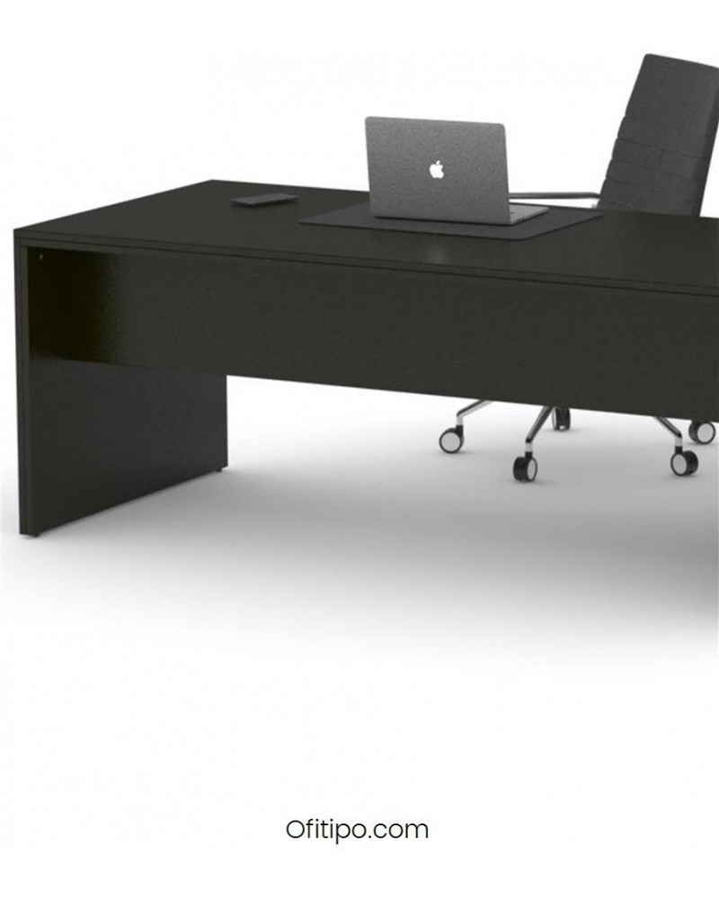 Mesa de despacho Eslem negra ofitipo 1