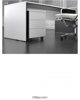 Mesa de despacho Eslem negra ofitipo 2