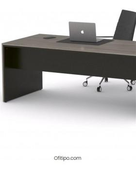 Mesa de despacho Eslem negra ofitipo 4