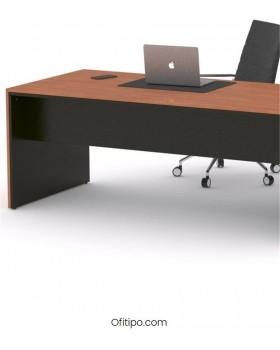 Mesa de despacho Eslem negra ofitipo 5