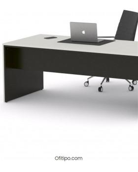 Mesa de despacho Eslem negra ofitipo 6