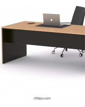 Mesa de despacho Eslem negra ofitipo 8