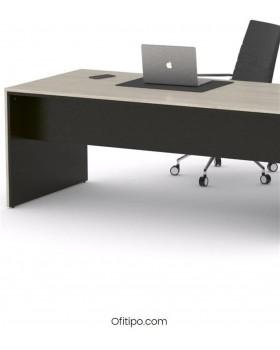 Mesa de despacho Eslem negra ofitipo 9