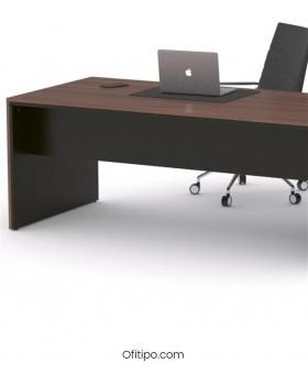 Mesa de despacho Eslem negra ofitipo 10