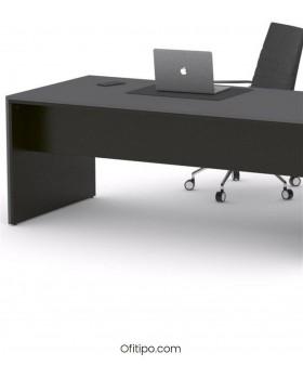 Mesa de despacho Eslem negra ofitipo 12