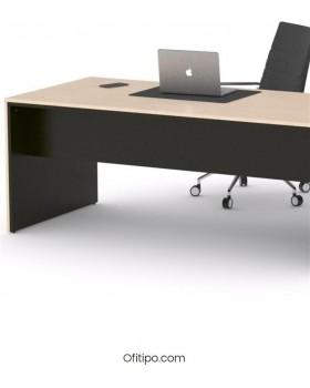 Mesa de despacho Eslem negra ofitipo 13