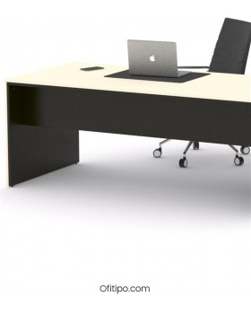 Mesa de despacho Eslem negra ofitipo 14