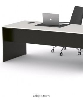 Mesa de despacho Eslem negra ofitipo 15
