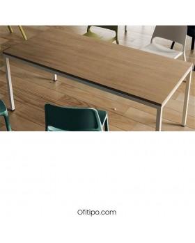 Mesa  oficina operativa Tasli - Ofitipo