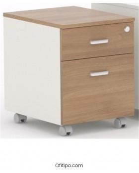 Archivador de madera cajón + archivo Macac - Ofitipo 3