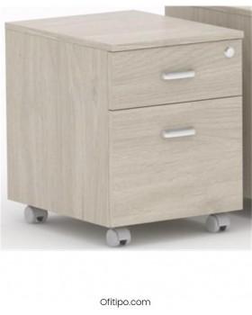 Archivador de madera cajón + archivo Macac - Ofitipo 4