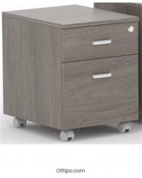 Archivador de madera cajón + archivo Macac - Ofitipo 5