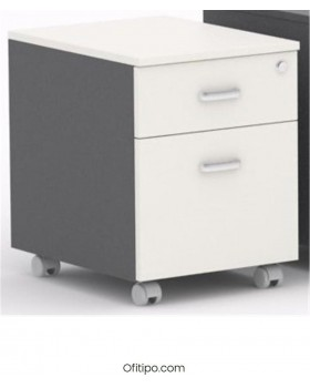 Archivador de madera cajón + archivo Macac - Ofitipo 6