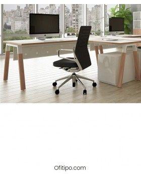 Mesa oficina Pasam en L ofitipo 2