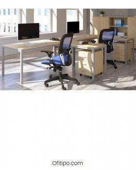 Mesa oficina Soldeur en L ofitipo 4