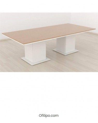 Mesa de reunión Eslem rectangular ofitipo 2