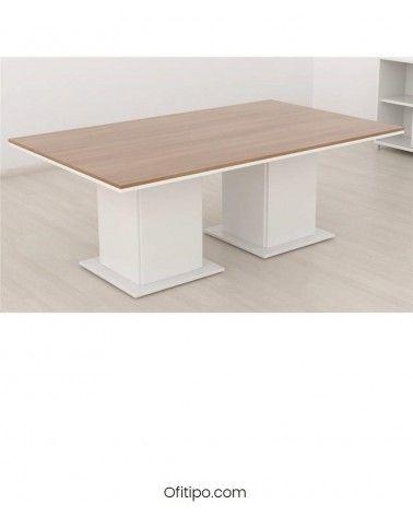 Mesa de reunión Eslem rectangular ofitipo 3