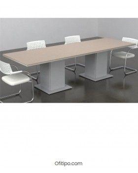 Mesa de reunión Eslem rectangular ofitipo 5