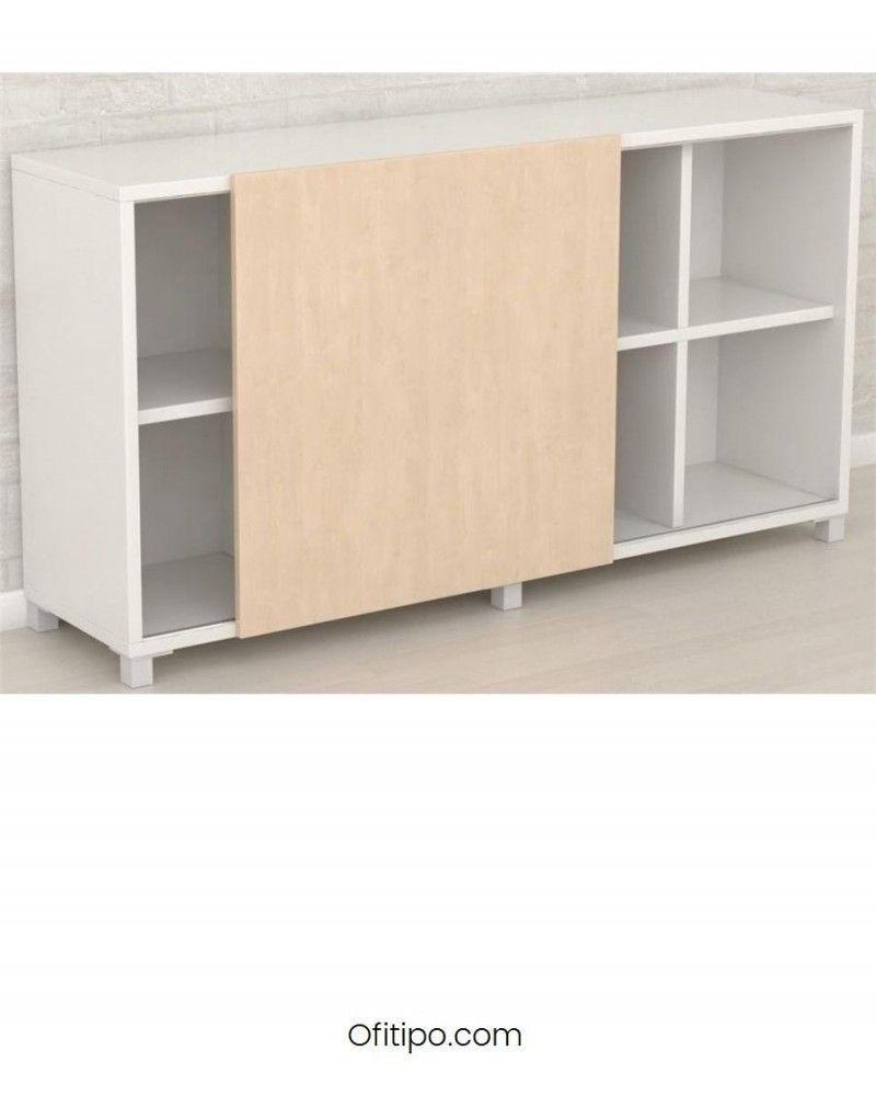 Librería estantería oficina Malib 8 celdas baja ofitipo 1