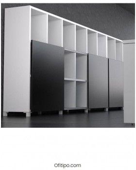 Librería estantería estantería oficina Malib 12 celdas alta ofitipo 2