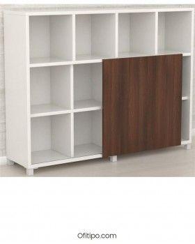 Librería estantería oficina Malib 12 celdas alta ofitipo 3