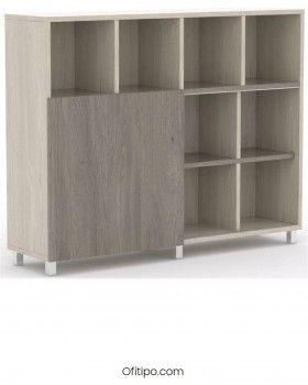 Librería estantería oficina Malib 12 celdas alta ofitipo 4