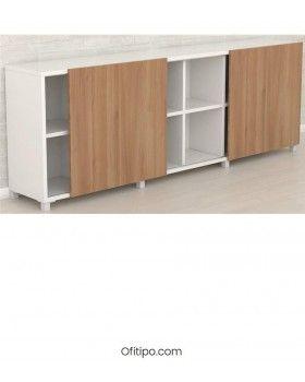 Librería oficina Malib 12 celdas baja ofitipo 1