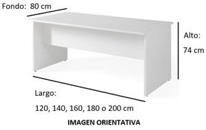 Imagen medidas - Mesa operativa Voltux ofitipo