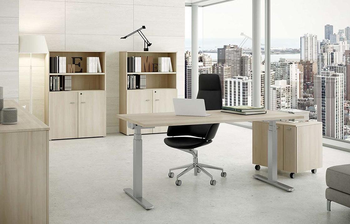 Distribuir muebles en oficinas pequeñas